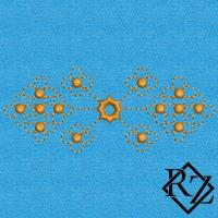 Скачать бесплатно дизайн машинной вышивки Узорчик